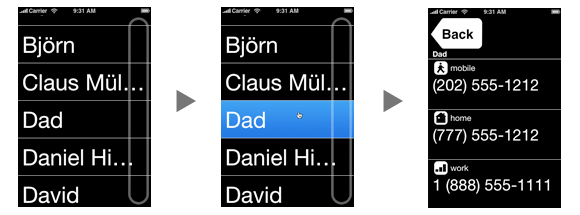 BigNames - The easy way to dial on your iPhone